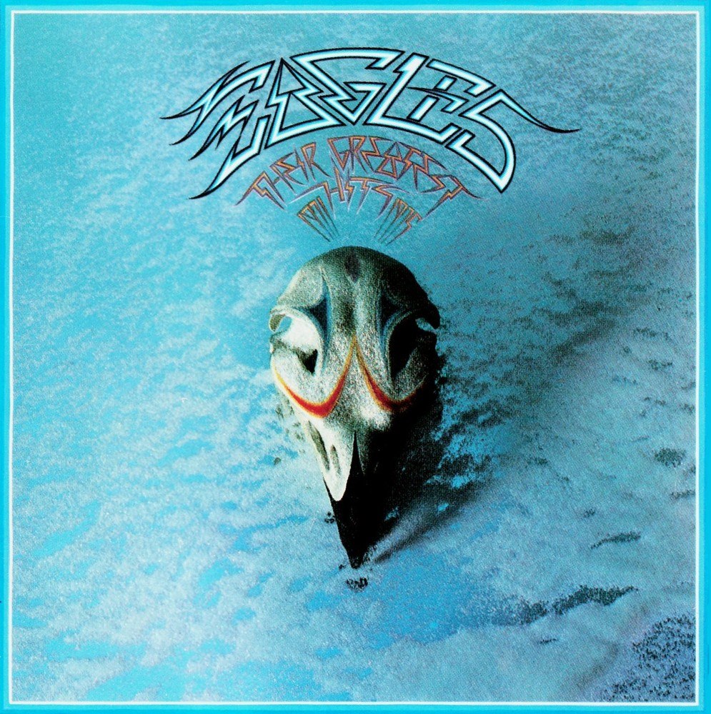love is a four letter word album cover - eagles greatest hits 1971 75 little concert